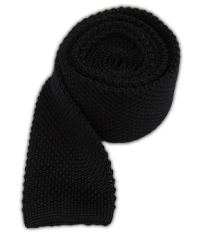 The Tie Bar Black Knit Tie
